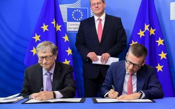 Europa e Bill Gates contro i cambiamenti climatici