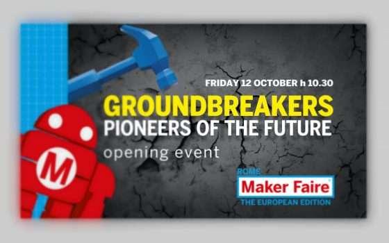 Maker Faire Rome 2018: avvio in diretta streaming