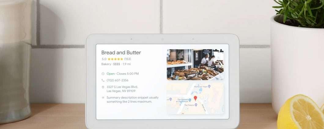 Google Home Hub non è basato su Android Things