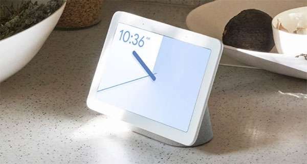 Lo smart display Google Home Hub