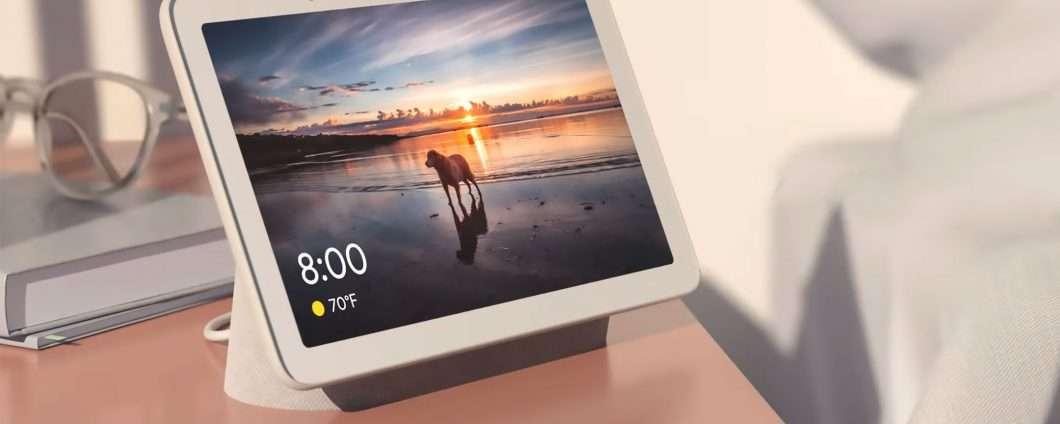 Evento Google: lo smart display Home Hub
