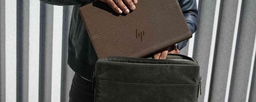 HP Spectre Folio, il convertibile in pelle