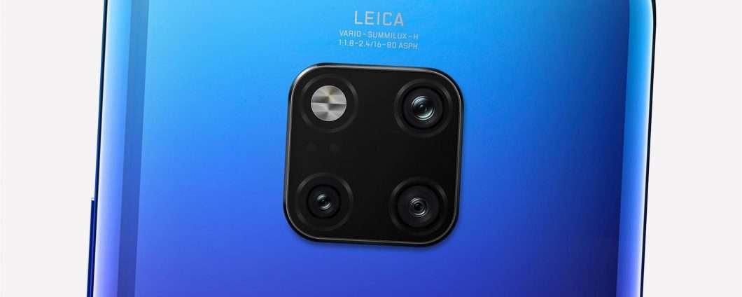 La serie Huawei Mate 20 con Matrix Camera System