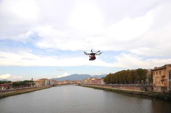 Il drone all'Internet Festival 2018