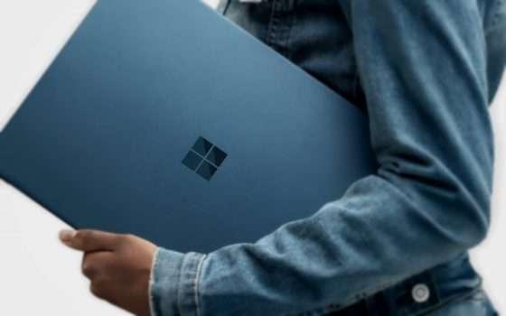 Microsoft Surface Laptop 2, nuove CPU e tastiera
