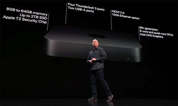 Il nuovo Mac mini