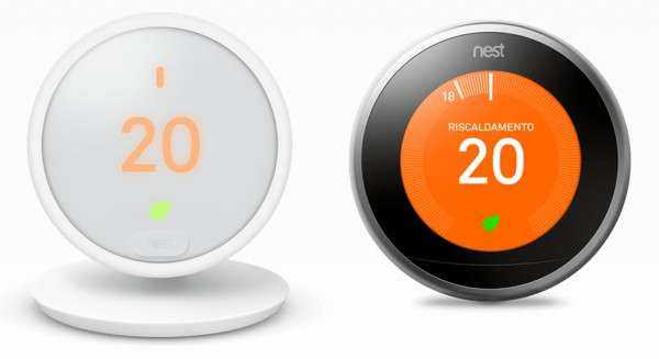 Nest Thermostat E e Nest Learning Thermostat