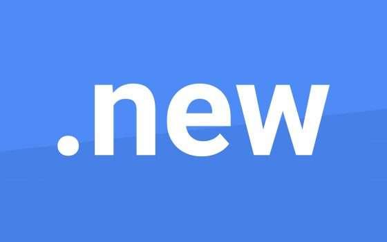.new è il TLD di Google per creare i documenti