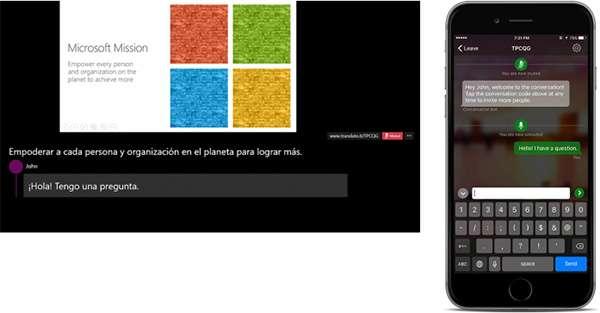 Microsoft PowerPoint: Presentator Translator