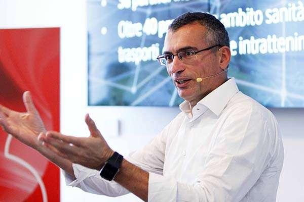 Fabrizio Rocchio, Vodafone