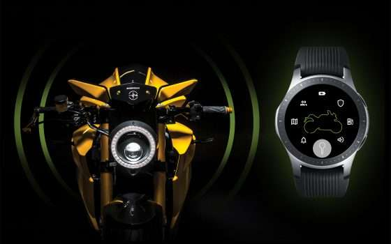 Smart Ride: lo smartwatch e la moto elettrica