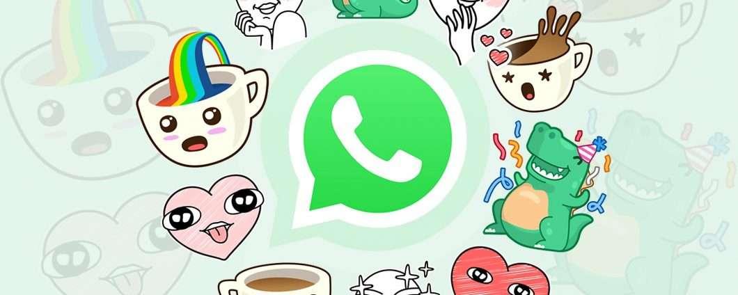 Gli sticker arrivano su WhatsApp: KAFFEEEEEE