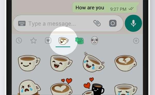 Gli sticker in WhatsApp