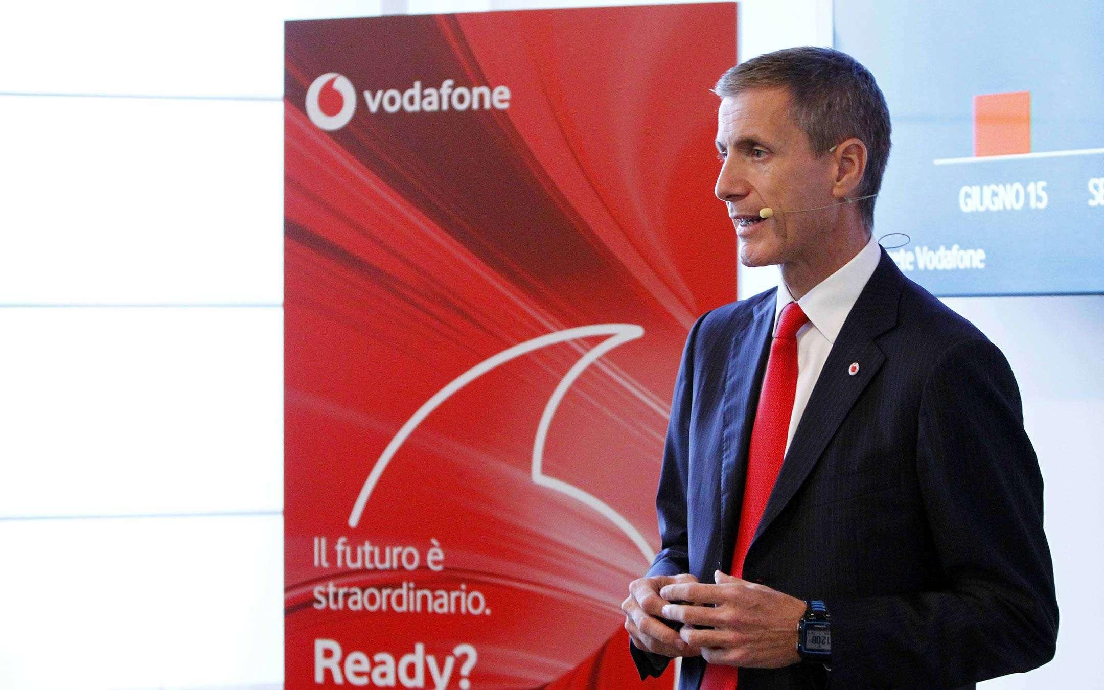 Andrea Rossini, Vodafone