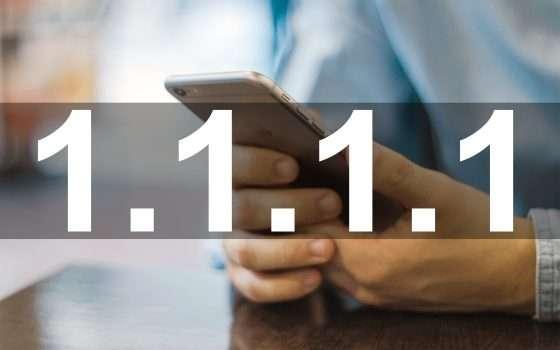 Cloudflare porta 1.1.1.1 su mobile con un'app