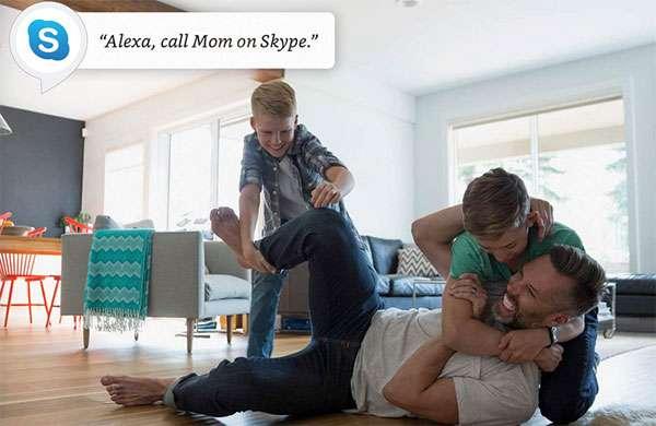 Alexa e Skype
