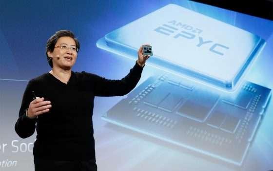 Il futuro di AMD nell'architettura Zen 2 a 7 nm