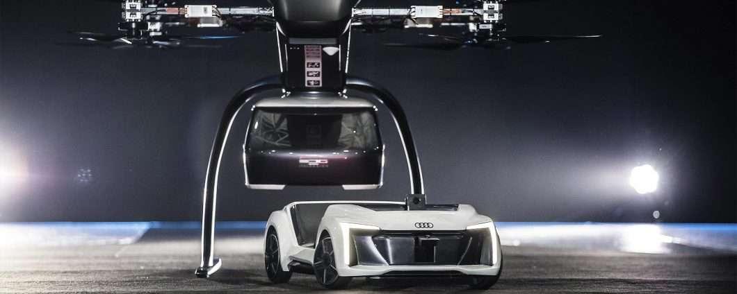 Italdesign con Audi e Airbus per Pop.Up Next