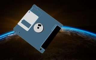 Floppy disk nello spazio, in orbita sulla ISS
