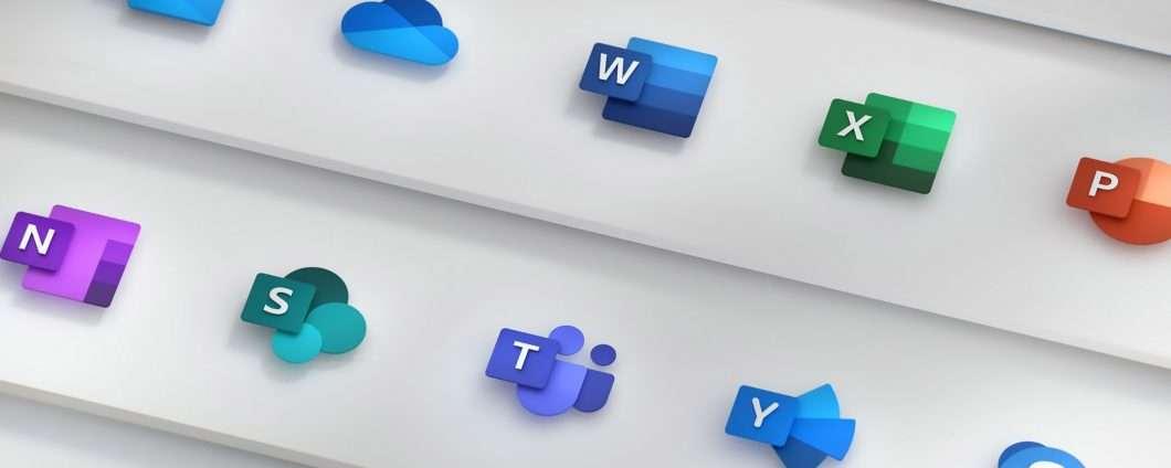 Un restyling per le icone di Microsoft Office