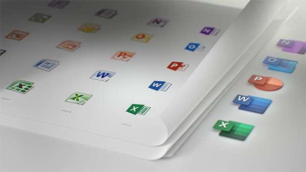 L'evoluzione delle icone di Microsoft Office