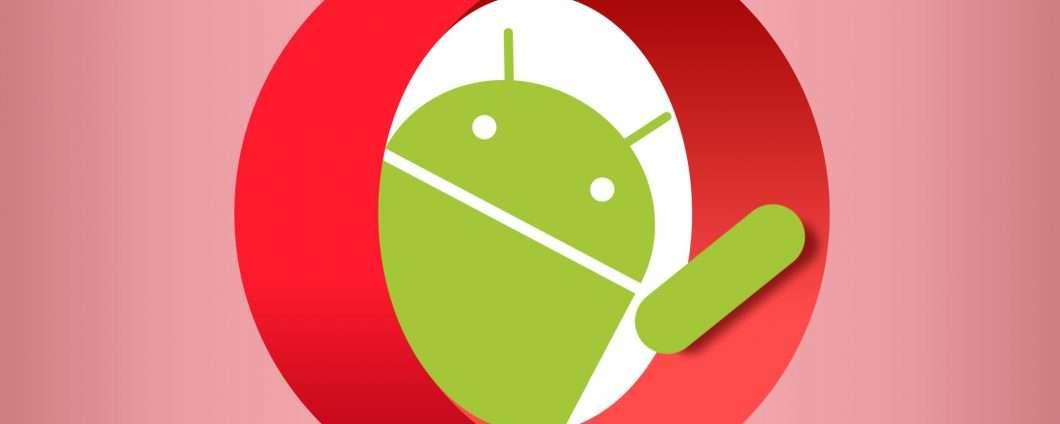 Opera per Android gestisce i cookie senza click