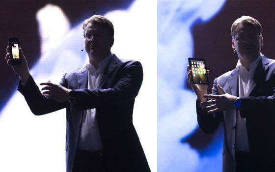 L'ambizione Samsung per lo smartphone pieghevole