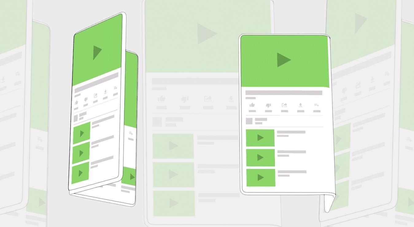 Android, smartphone pieghevoli