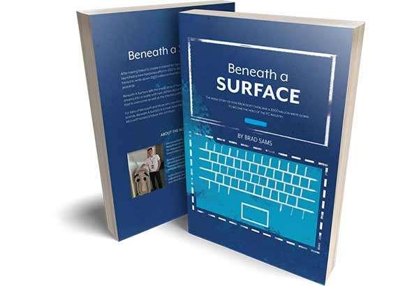 Il libro Beneath a Surface di Brad Sams