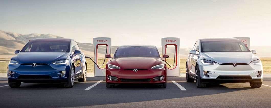 Il Supercharger V3 di Tesla arriverà nel 2019