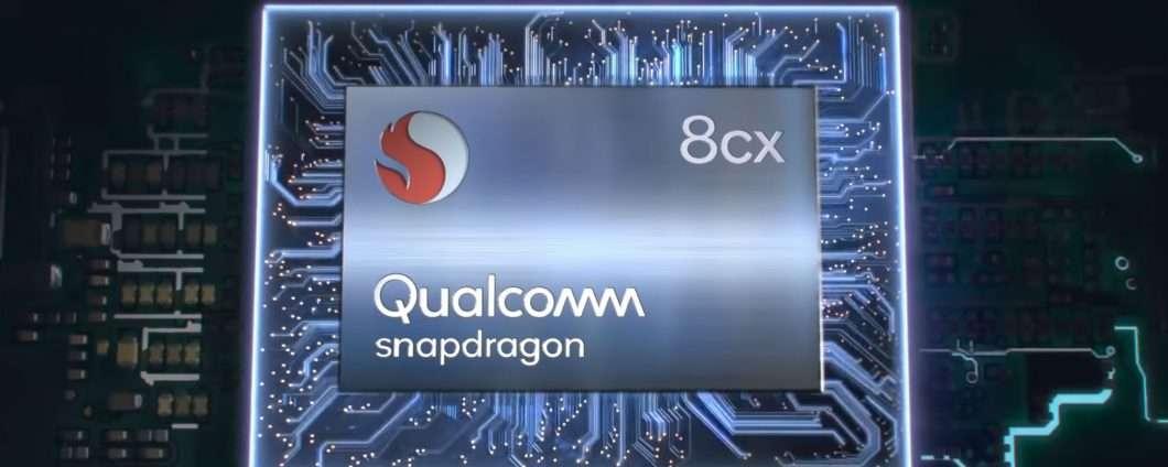 Qualcomm Snapdragon 8cx, 7 nm per il mondo PC