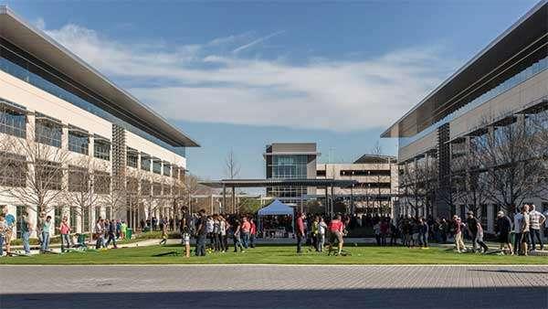 Uno degli attuali campus Apple di Austin