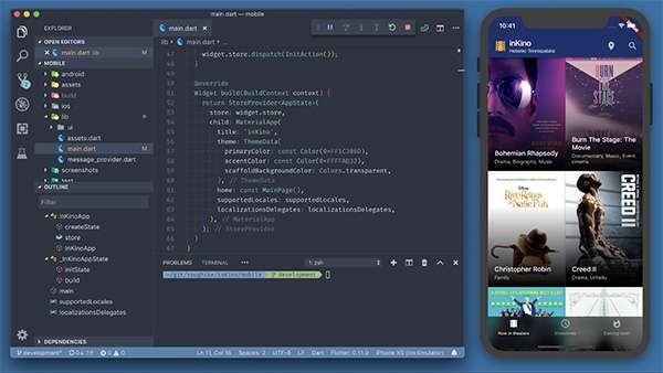 Lo sviluppo di un'applicazione mobile con Flutter
