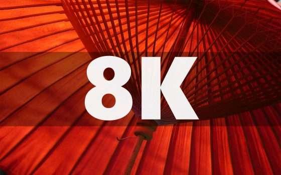 In Giappone la TV entra nell'era dell'8K