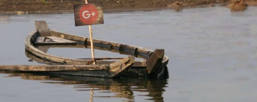 Google+ affonda e chiude ancor prima del previsto