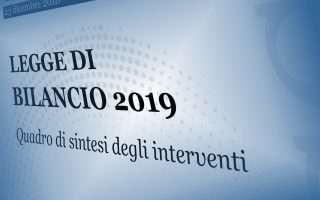 Legge di bilancio 2019: startup, IA e industria 4.0