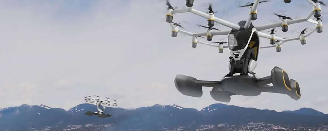 Hexa, il velivolo VTOL multirotore di LIFT Aircraft
