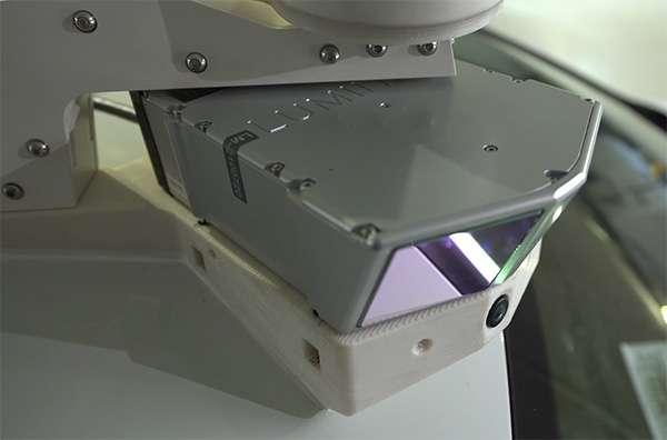 La tecnologia sviluppata da Luminar