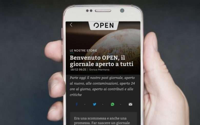 Open è online: benvenuto, Open!