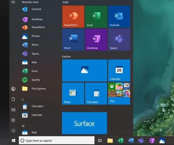 Le nuove icone di Windows 10, al momento dei concept