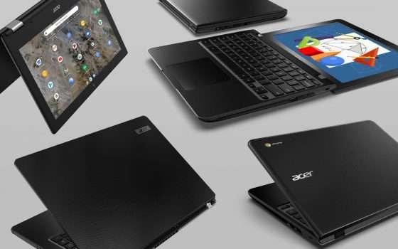 Acer: nuovi Chromebook e laptop Windows per studenti