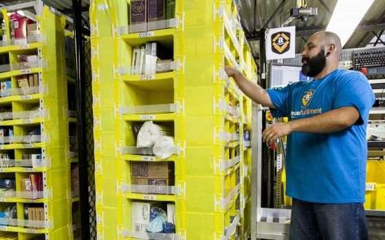 Amazon Robotic Tech Vest: i robot e la sicurezza