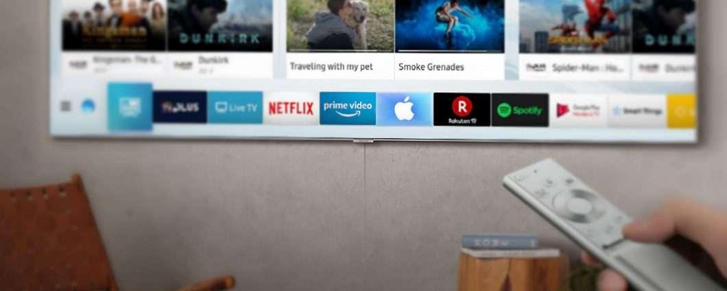 Sta per comparire una mela sulle smart tv Samsung