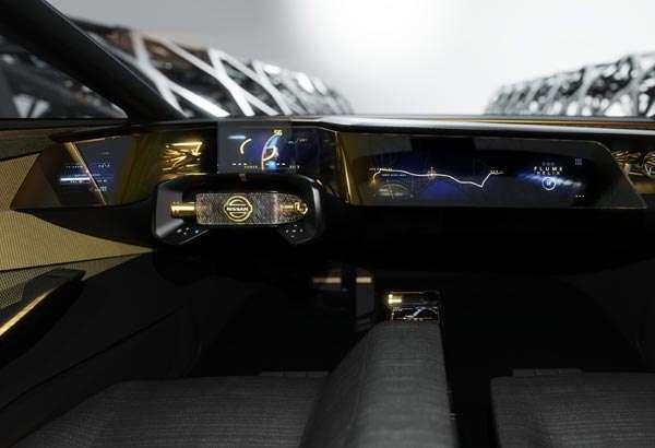 Il cruscotto della concept car Nissan IMs
