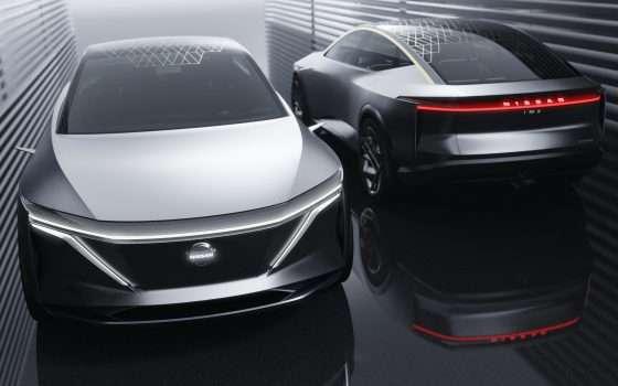 IMs è la concept car elettrica e autonoma di Nissan