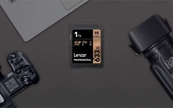 È di Lexar la prima scheda SDXC da 1 TB