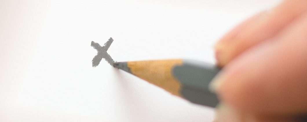 E tu come scrivi la lettera X?