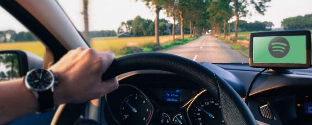 Spotify, ipotesi di player bluetooth per l'auto