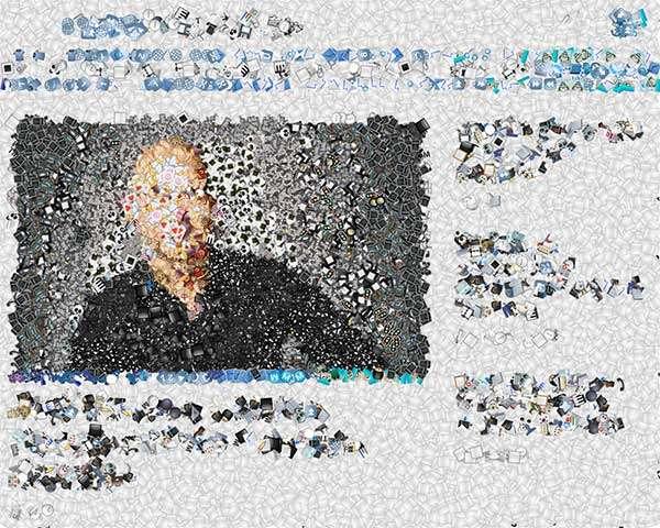 Emoji Mosaic: la homepage di Punto Informatico diventa un mosaico di emoji