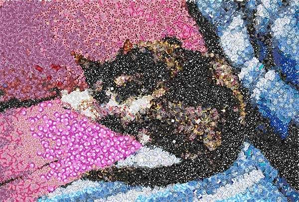 Con Emoji Mosaic i nostri amici a quattro zampe diventano un mosaico di emoji